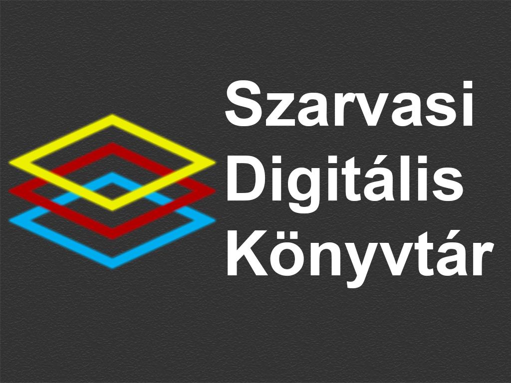 Szarvasi Digitális Könyvtár logo 1024